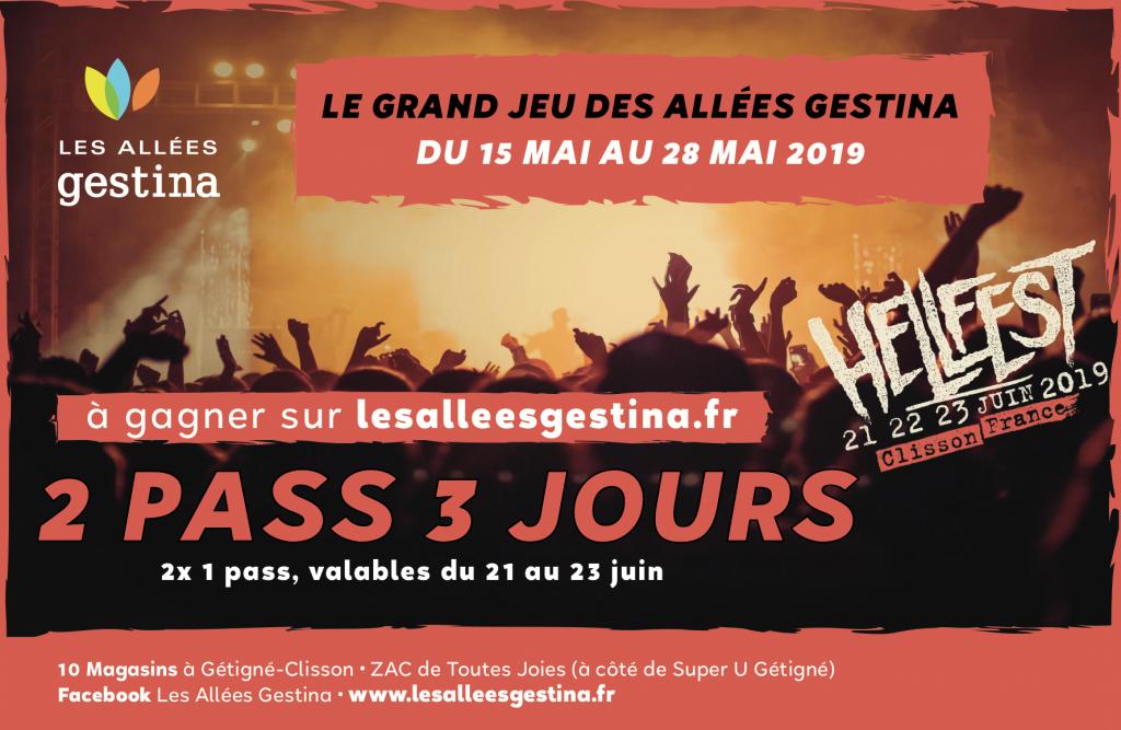 Hellfest 2019 Jeu Les Allées Gestina